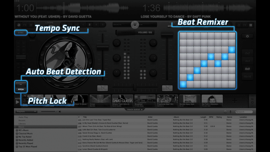 itDJ for Mac - review, screenshots