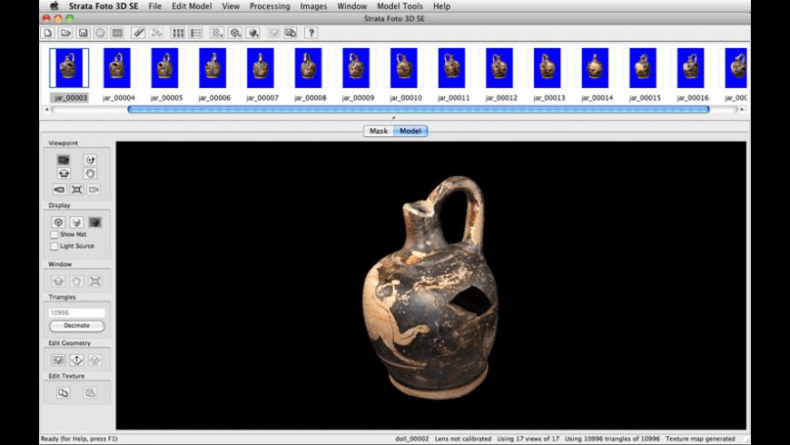 Strata Foto 3D SE for Mac - review, screenshots