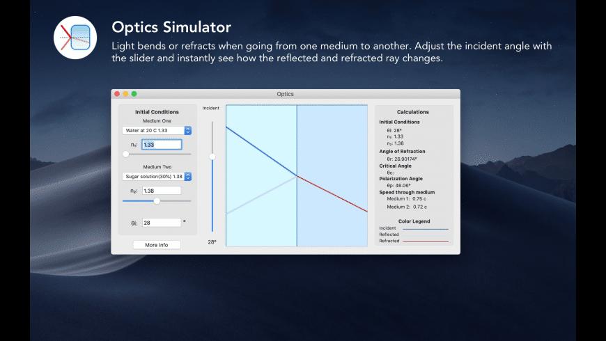 Physics 101 for Mac - review, screenshots