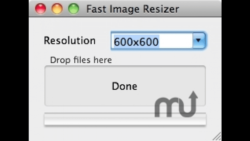 Fast Image Resizer for Mac - review, screenshots