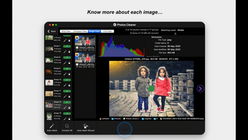 Photos Cleaner for Mac - review, screenshots