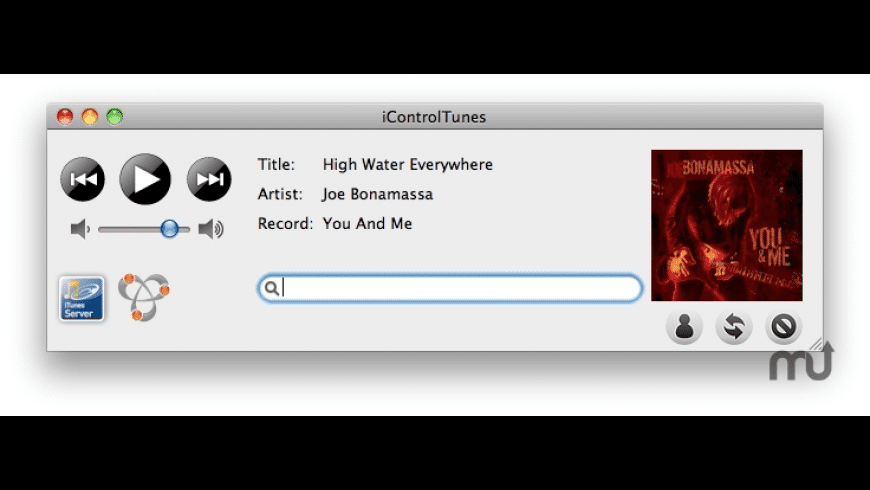 iControlTunes for Mac - review, screenshots