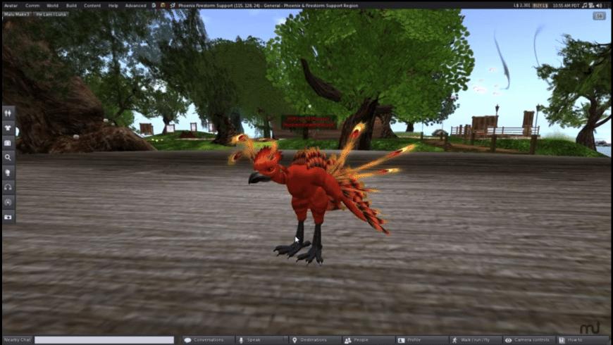 Phoenix Firestorm Viewer for Mac - review, screenshots
