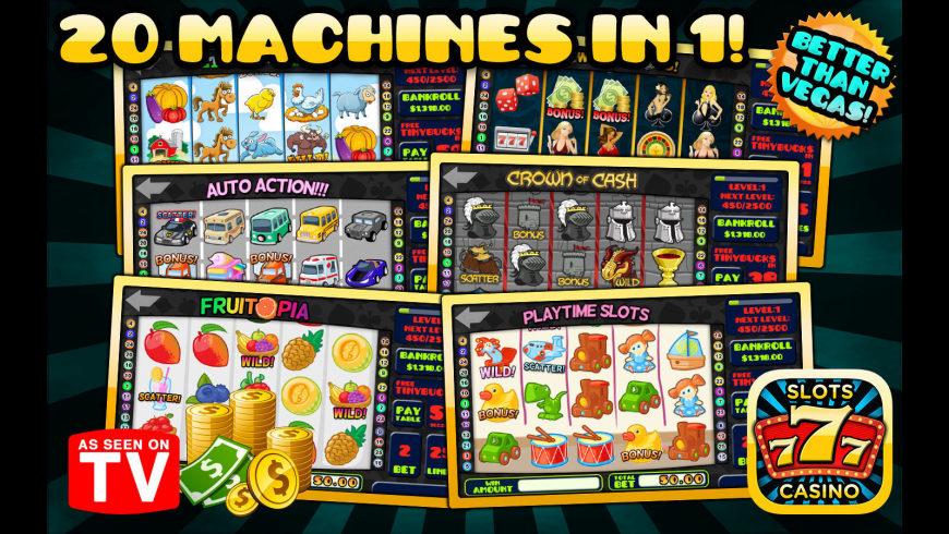 Ace Slots Casino 3 for Mac - review, screenshots
