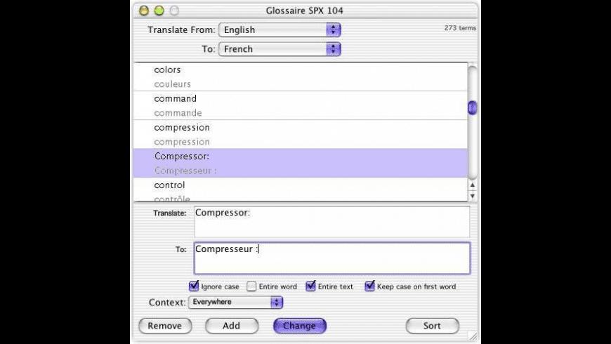 PowerGlot X for Mac - review, screenshots
