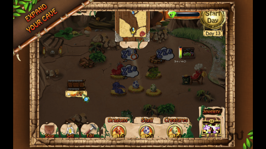 Dragon Keeper for Mac - review, screenshots