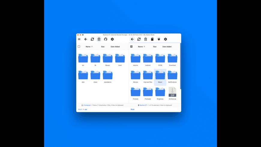 OpenMTP for Mac - review, screenshots