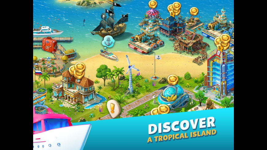 Paradise Island 2 for Mac - review, screenshots