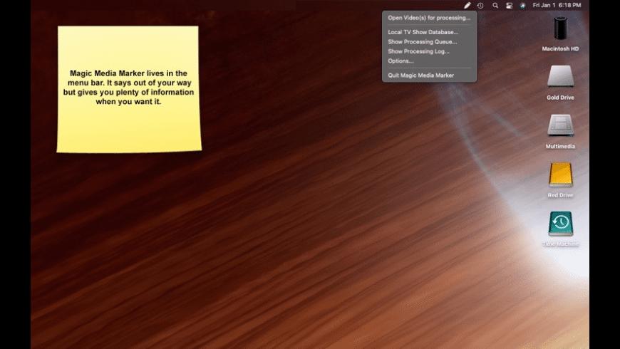 Magic Media Marker for Mac - review, screenshots