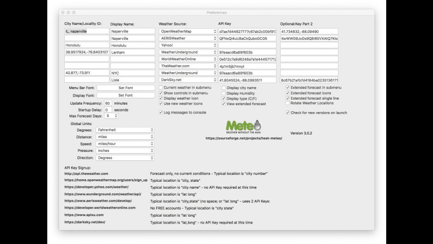 Meteorologist for Mac - review, screenshots