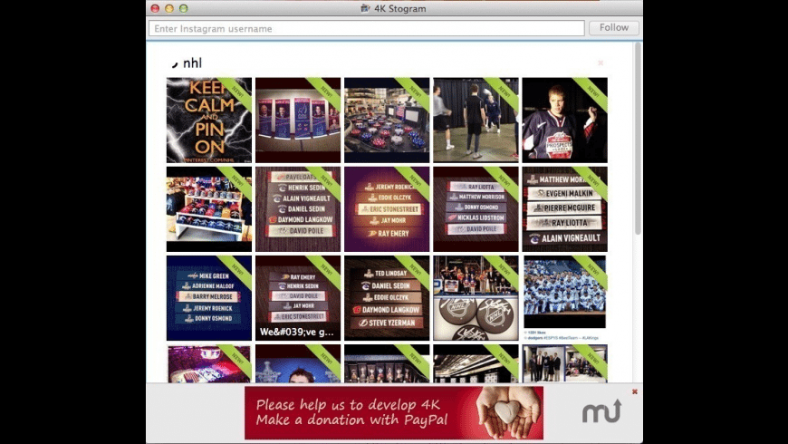 4K Stogram for Mac - review, screenshots