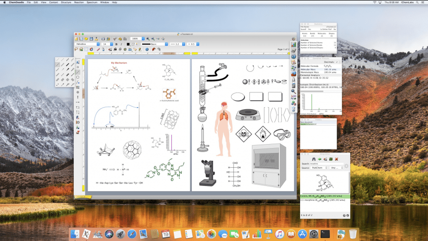 ChemDoodle for Mac - review, screenshots