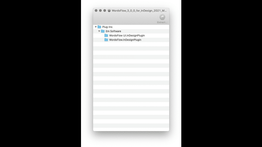 Payload Extractor for Mac - review, screenshots