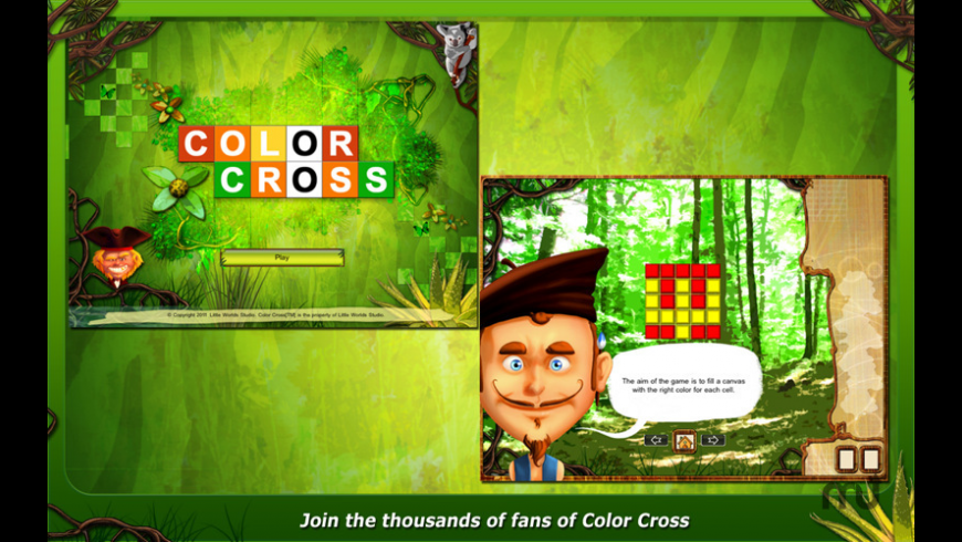 ColorCross for Mac - review, screenshots