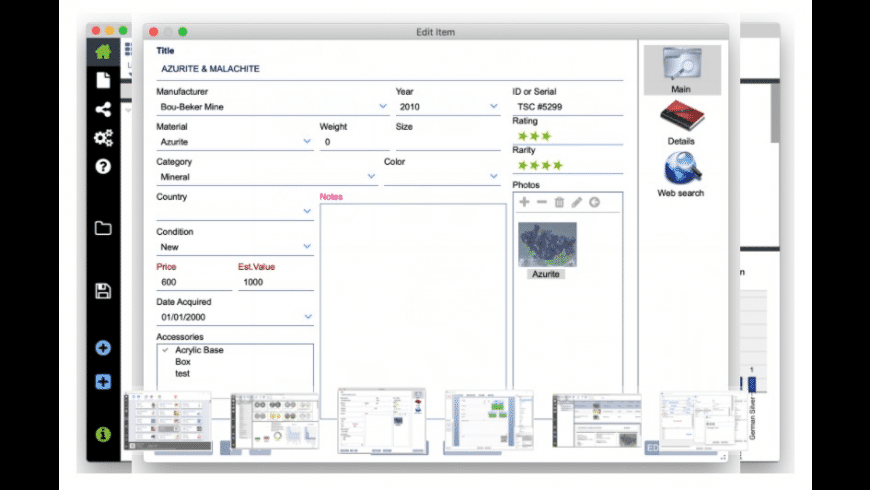 LignUp Multi Collector for Mac - review, screenshots