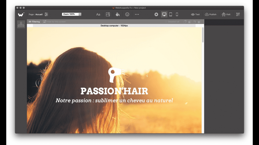 WebAcappellaFx for Mac - review, screenshots