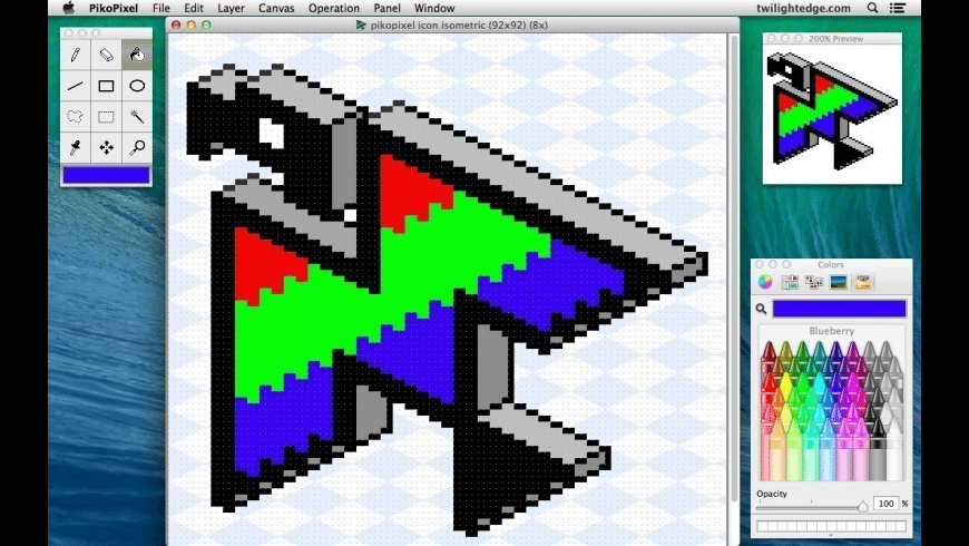 PikoPixel for Mac - review, screenshots