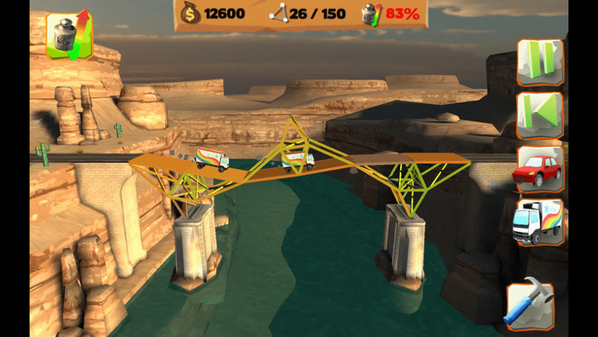 Bridge Constructor Playground for Mac - review, screenshots