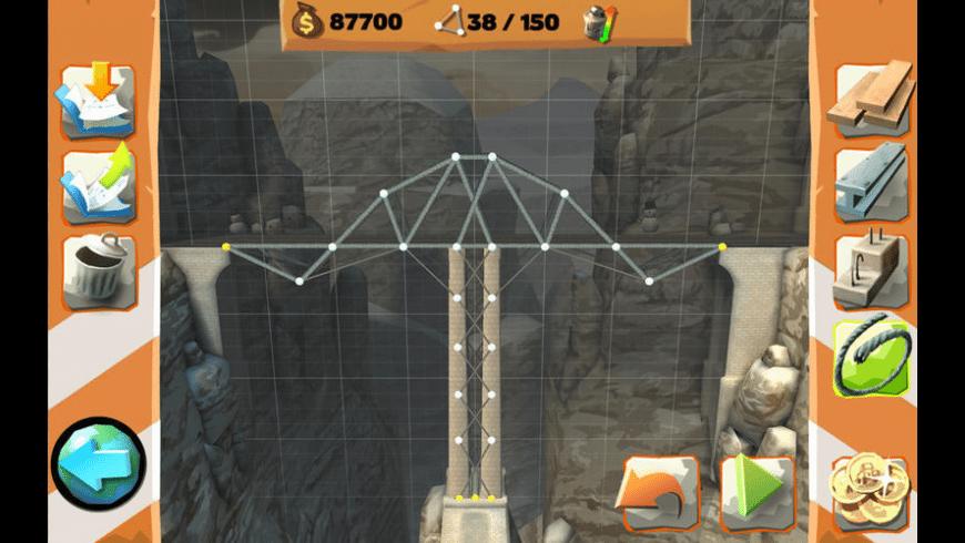 Bridge Constructor Playground for Mac - review, screenshots