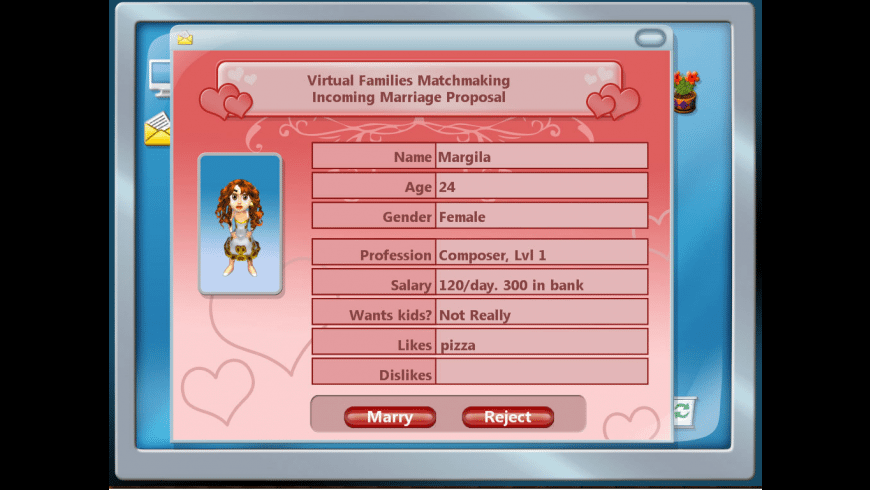 Virtual Families 2 for Mac - review, screenshots