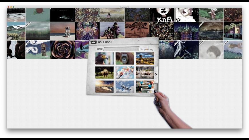 Psykopaint for Mac - review, screenshots