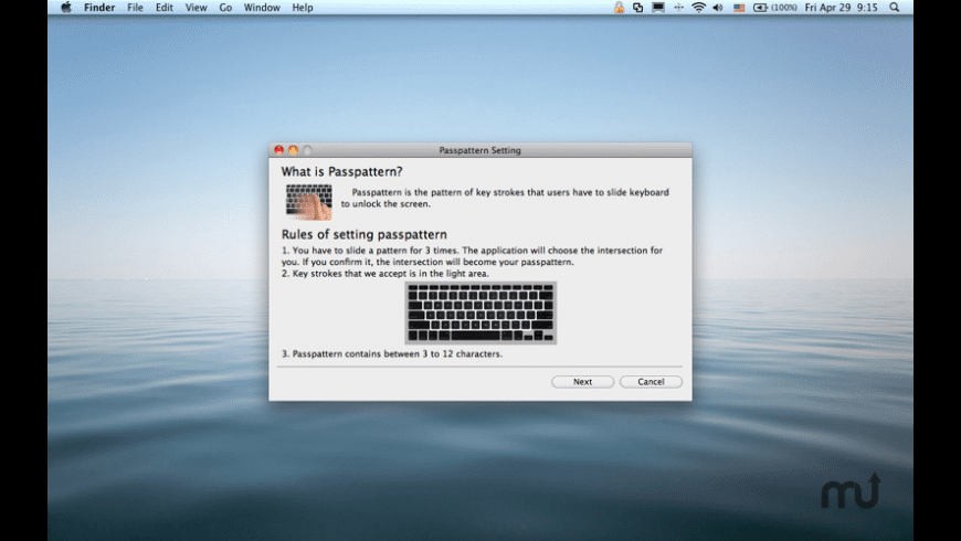 Lock Screen for Mac - review, screenshots
