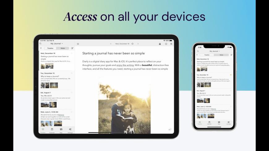 Diarly for Mac - review, screenshots