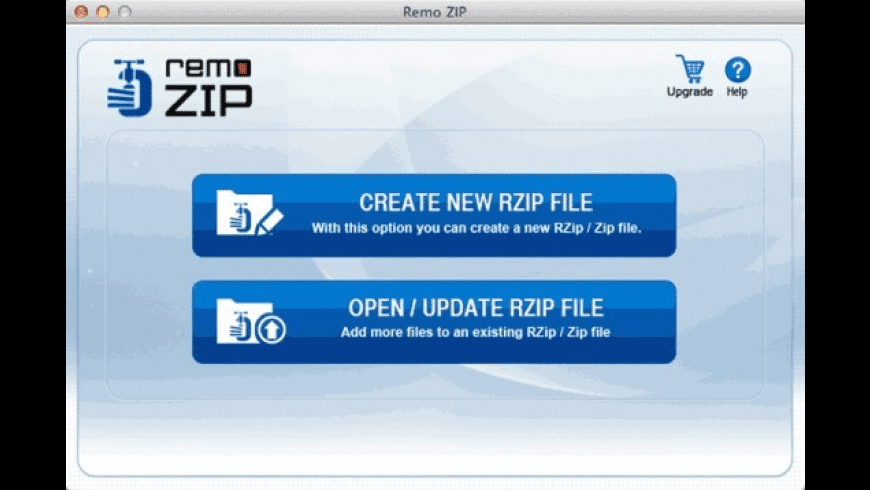 Remo ZIP for Mac - review, screenshots