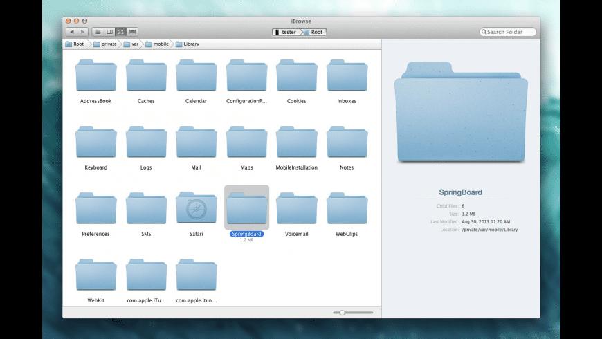 iBrowse for Mac - review, screenshots