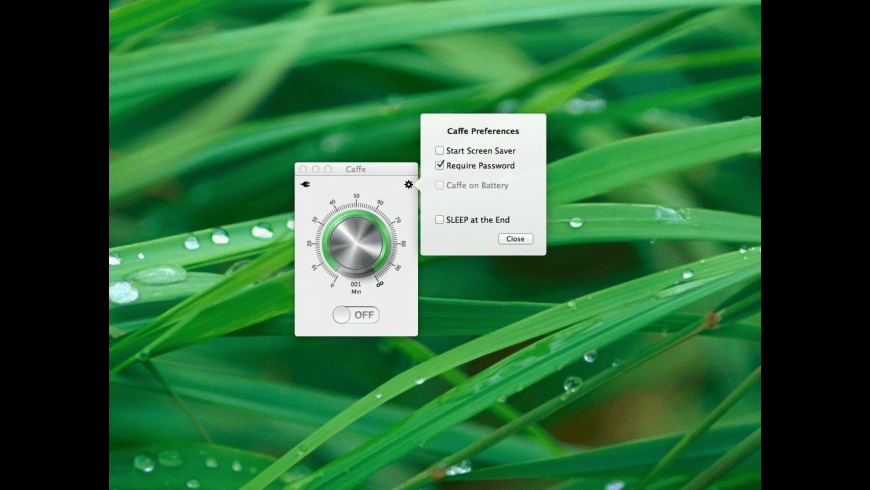 Caffe for Mac - review, screenshots