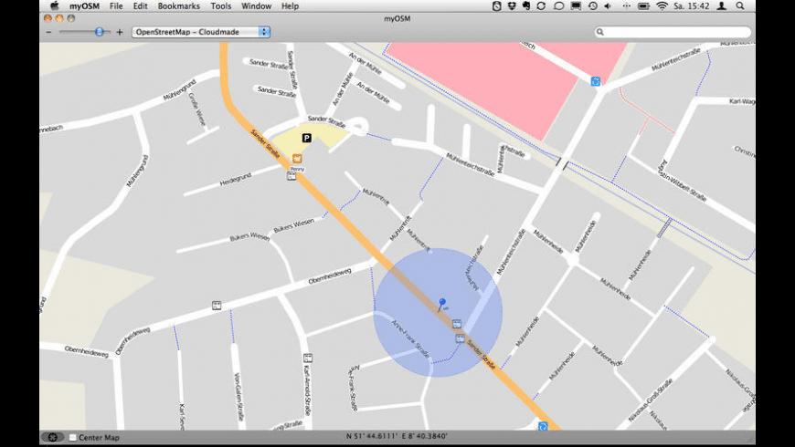 myOSM for Mac - review, screenshots