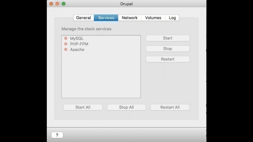 Drupal for Mac - review, screenshots