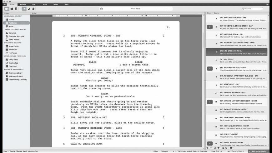 Script Studio for Mac - review, screenshots