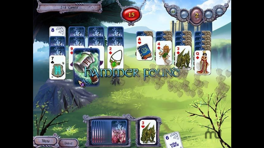Avalon Legends Solitaire for Mac - review, screenshots