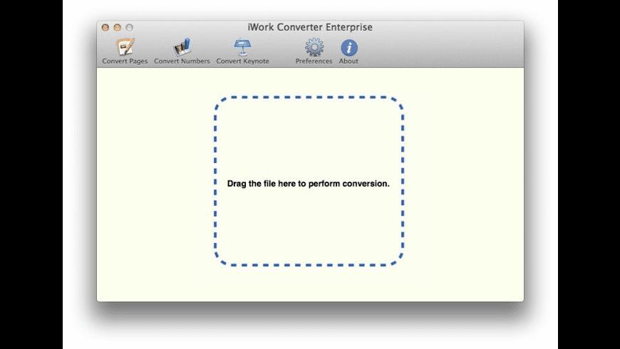 iWork Converter for Mac - review, screenshots
