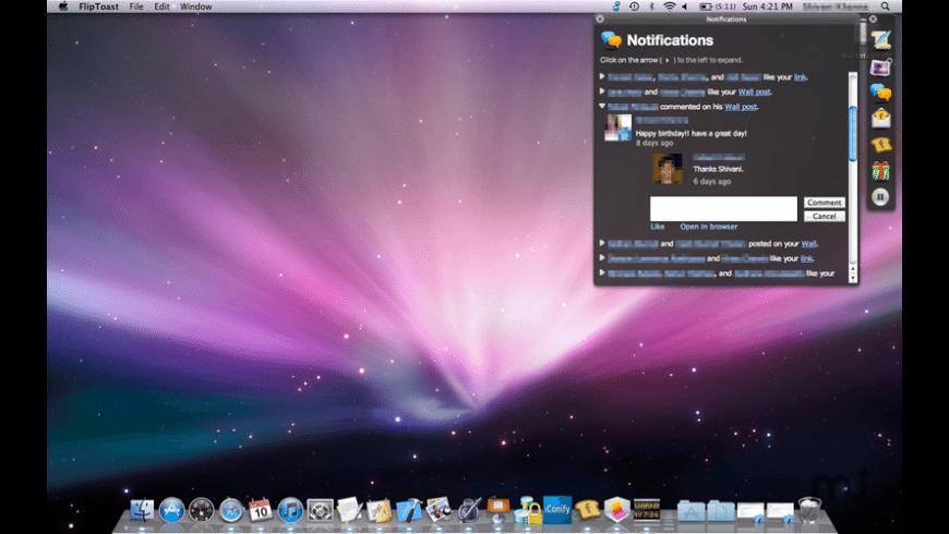 FlipToast for Mac - review, screenshots