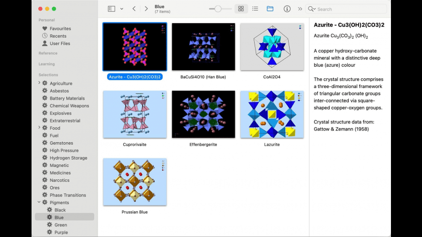 CrystalViewer for Mac - review, screenshots
