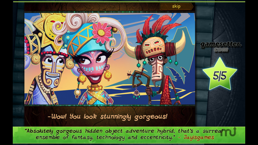 Tulula: Legend of a Volcano for Mac - review, screenshots