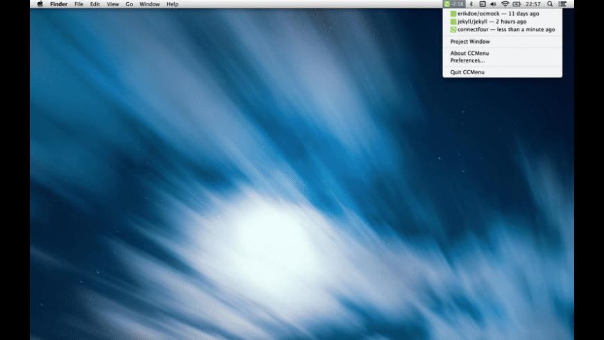 CCMenu for Mac - review, screenshots