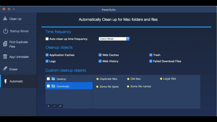 PowerSuite for Mac - review, screenshots