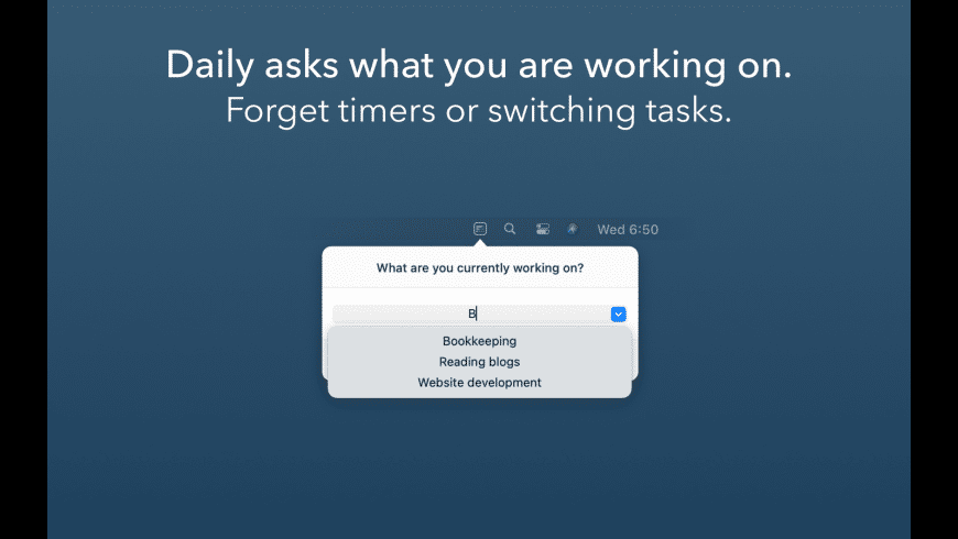Daily Time Tracking for Mac - review, screenshots