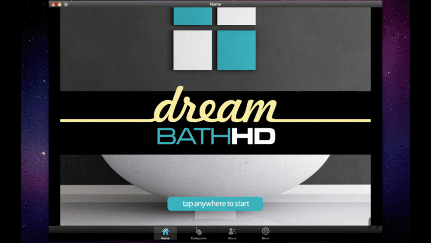 Dream Bath HD for Mac - review, screenshots