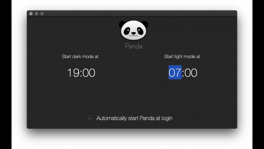 Panda for Mac - review, screenshots