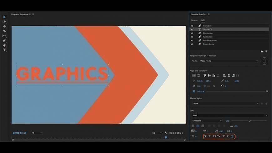 Adobe Premiere Pro CC 2021 for Mac - review, screenshots