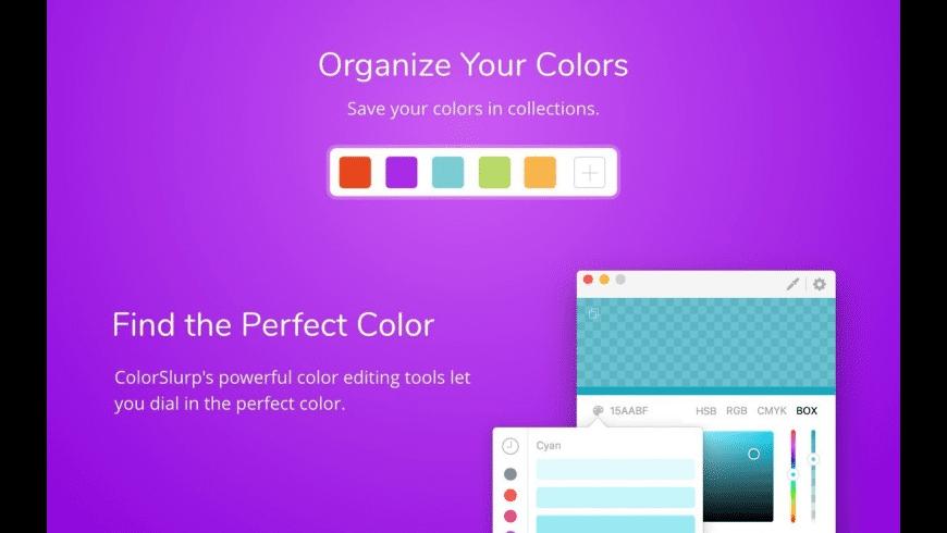ColorSlurp for Mac - review, screenshots