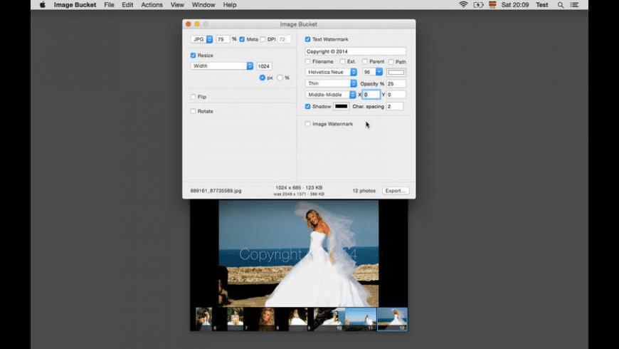 Image Bucket for Mac - review, screenshots