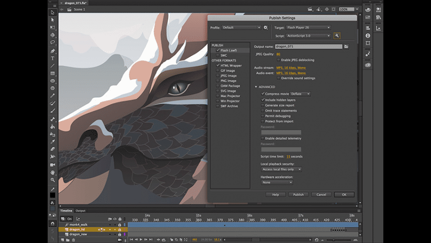 Adobe Animate for Mac - review, screenshots