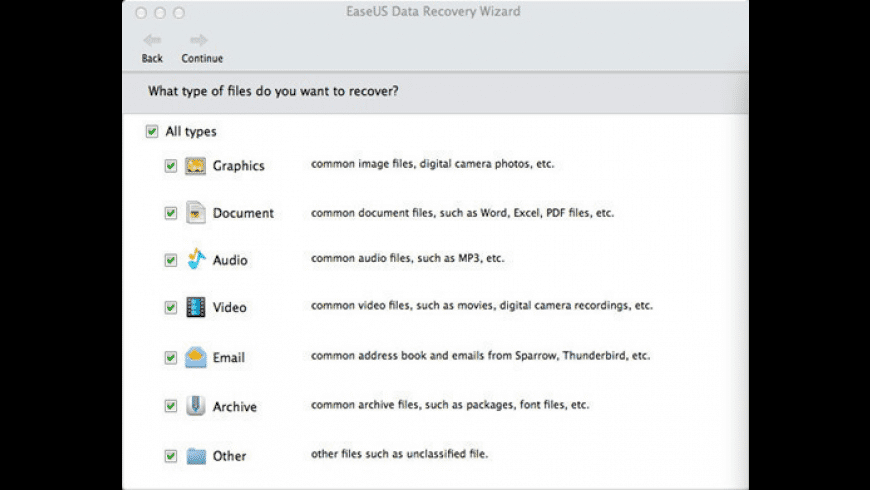 EaseUS Data Recovery Wizard for Mac - review, screenshots
