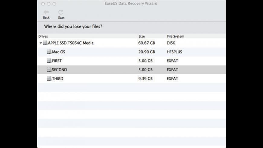 EaseUS Data Recovery Wizard for Mac - review, screenshots