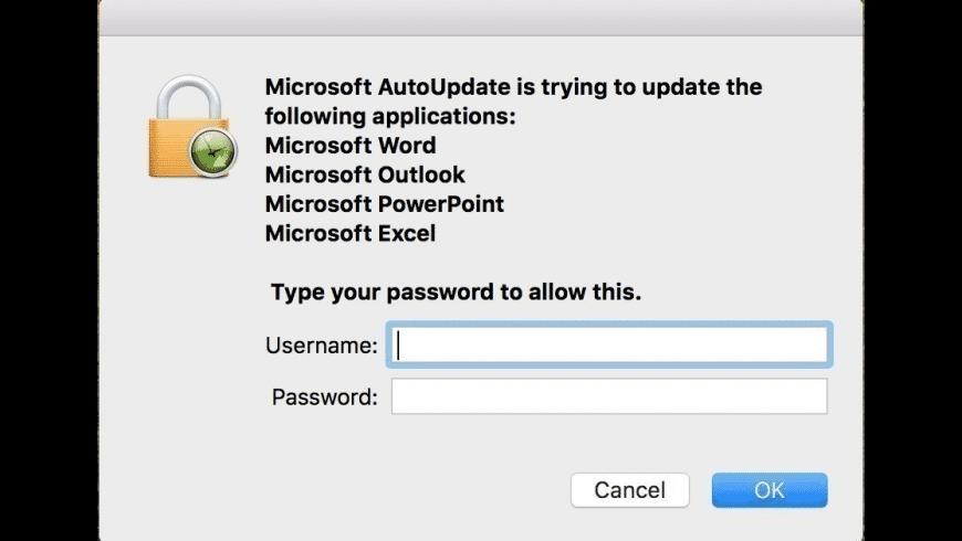 Microsoft AutoUpdate for Mac - review, screenshots